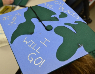 Photo of Avanti HS 2016 graduation cap