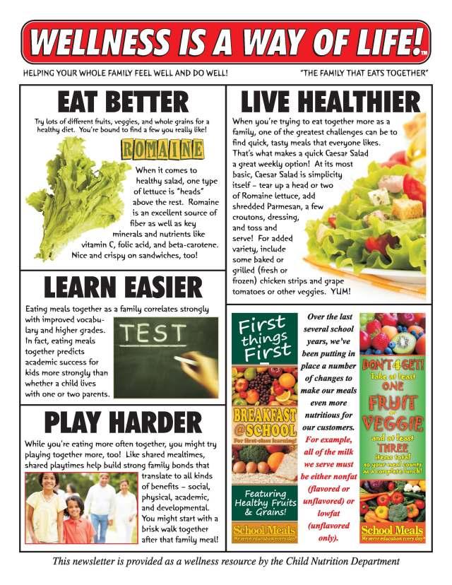 November Wellness Newsletter Here S The Scoop
