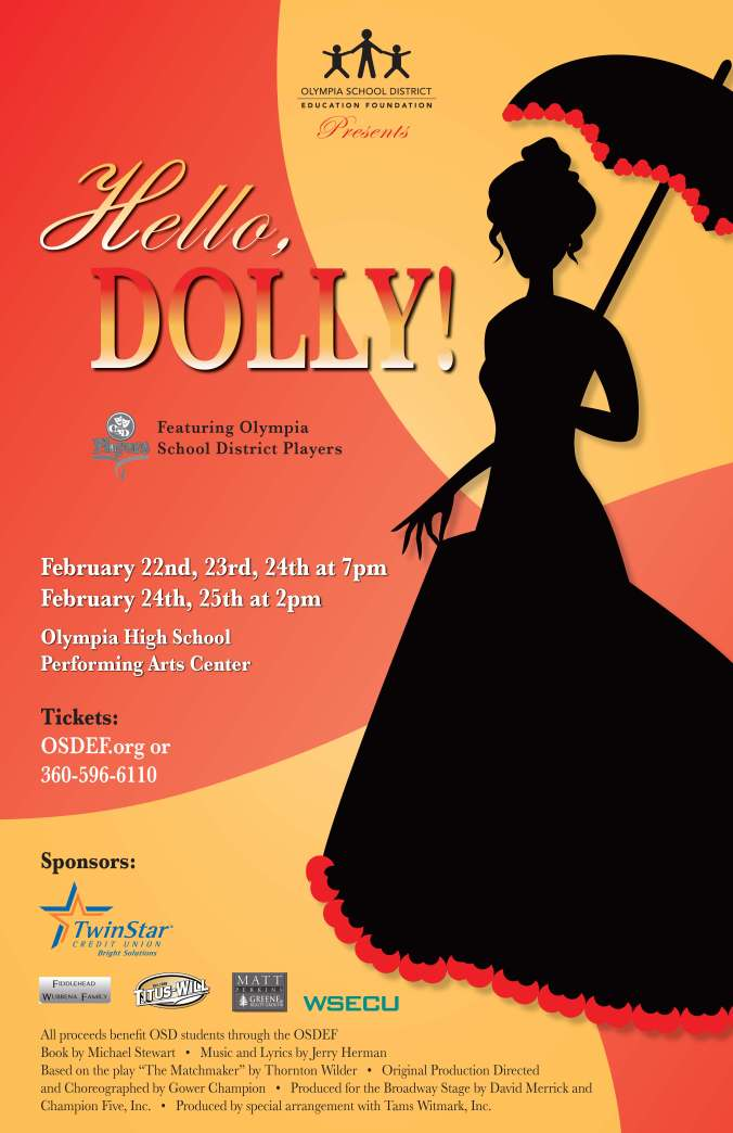 Holly Dolly PRINT Poster