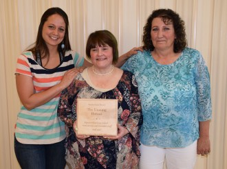 2016-17 winners of The Unsung Heroes award: Hansen Elementary Food Services and Custodial Staff