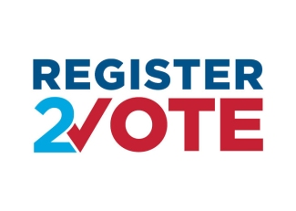 Register 2 vote graphic