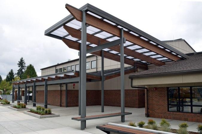 Roosevelt Elementary School front