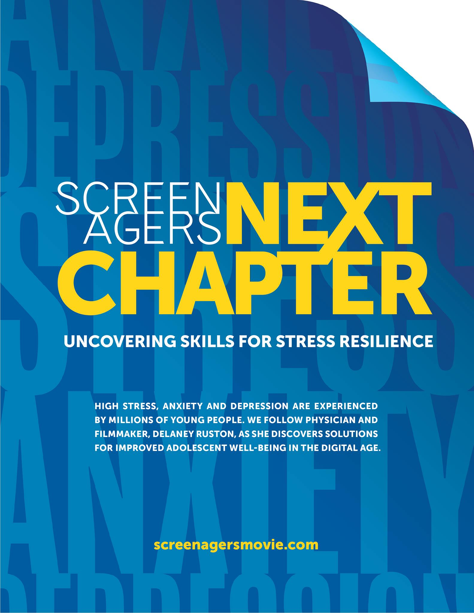 Screenagers Next Chapter Poster; information is contained in article